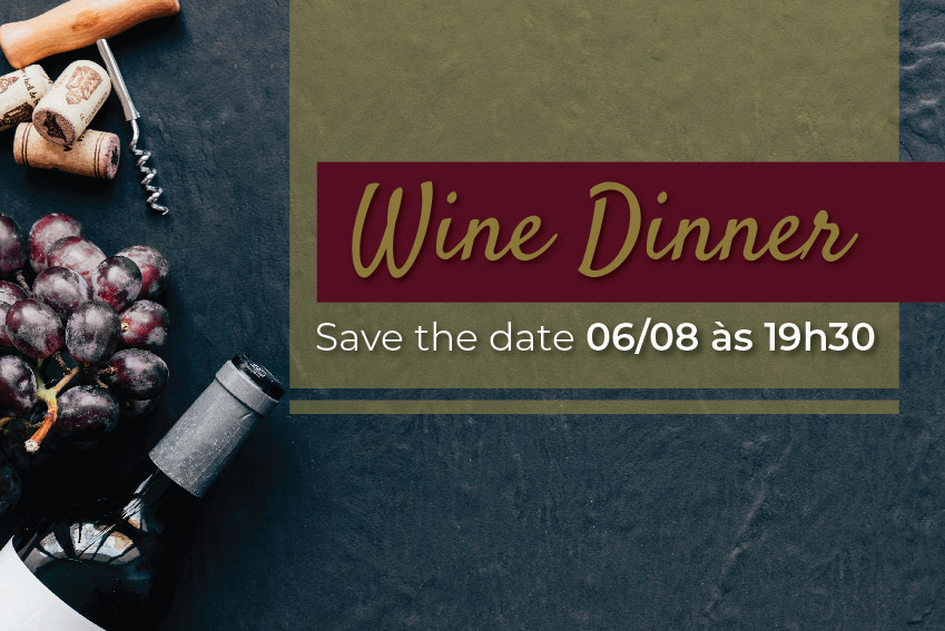 Wine Dinner Oliv Restaurante - 06/08/2019
