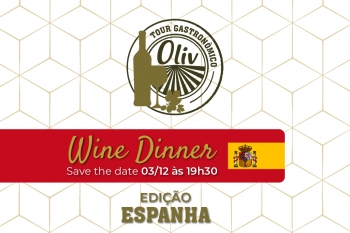Wine Dinner Oliv Restaurante - 03/12/2019